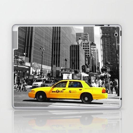 The yellow cab Laptop & iPad Skin