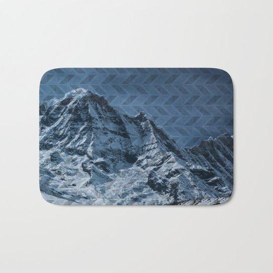 White Mountain Bath Mat