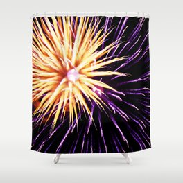 Concussion Shower Curtain