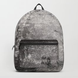 Black and White Grass Shadows on Stone Backpack