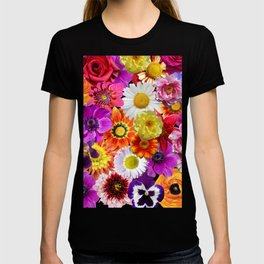 Layers of flowers T-shirt