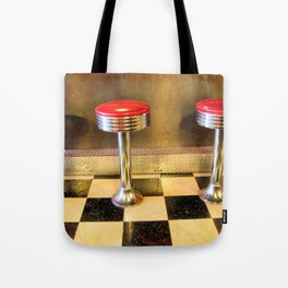 olde time stools Tote Bag