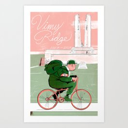 Vimy 100 Art Print