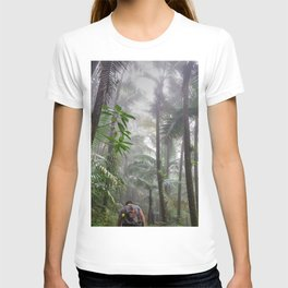 The Cloud forest - before Maria - El Yunque rainforest PR T-shirt