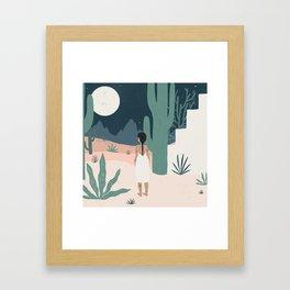 sonoran siren Framed Art Print