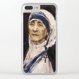 St. Teresa of Calcutta Clear iPhone Case