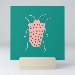 arthropod teal Mini Art Print