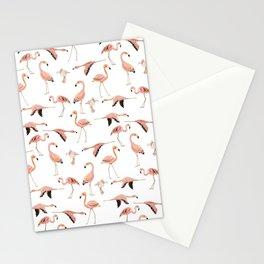 Flamingo overload Stationery Cards
