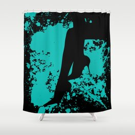 Bizang! These Heels are Killer! Shower Curtain