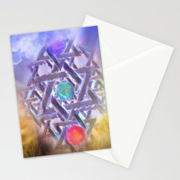Merkabah Fantasy Stationery Cards