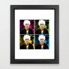 Sophia x 4 Framed Art Print
