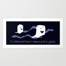 Ghost Heart Art Print