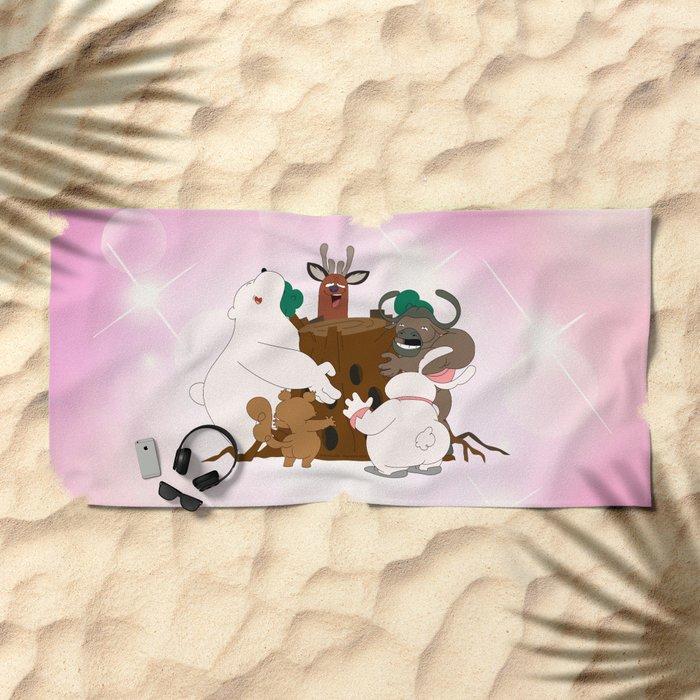 The Magic Tree (Peepoodo) Beach Towel