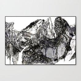 Yangtze River Shirt Canvas Print
