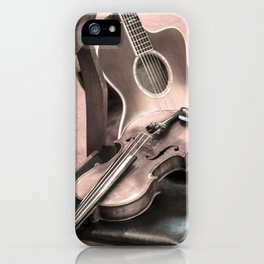 Relaxed Strings (2) iPhone Case