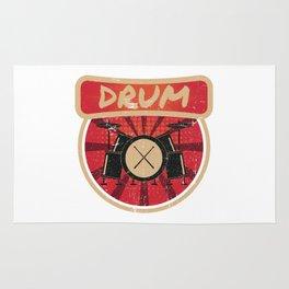 Drum Propaganda | Drummer Musician Band Rug
