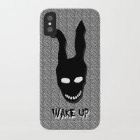 donnie darko iPhone & iPod Cases featuring Donnie Darko Wake Up by Grace
