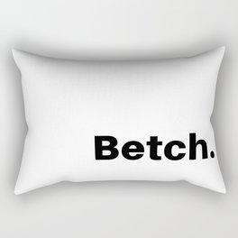 Betch. Rectangular Pillow