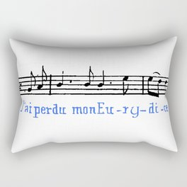 J'ai perdu mon Eurydice II Rectangular Pillow