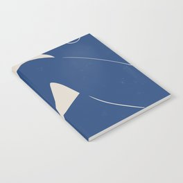 Woman Nude in Blue Notebook