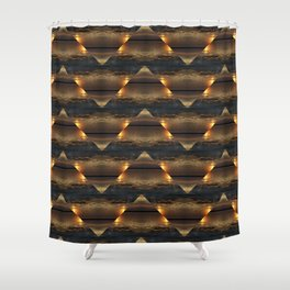 Sunset Kaliedoscope Shower Curtain