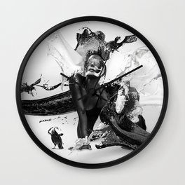 Milk'n Honey Wall Clock