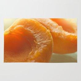 Slice apricots Rug