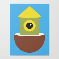 COCONUT HUT Canvas Print