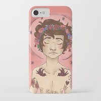 cargline iPhone & iPod Cases featuring Hippie Harry by cargline
