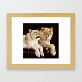 And Then She Said....... Framed Art Print