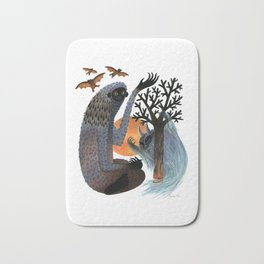 Big Foot's Demons Bath Mat