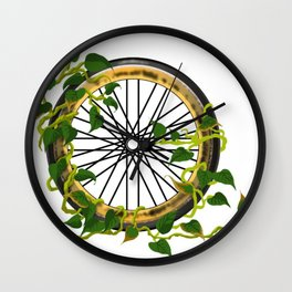Ride On Ivy Wall Clock