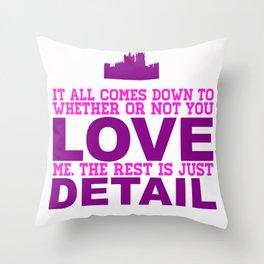 Downton Abbey (Branson) Throw Pillow