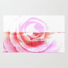 Rose In The Salt Marsh By Annie Zeno  Rug