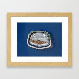 Vintage FORD Truck Badge Framed Art Print