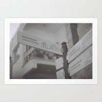 Un_named_churches Art Print