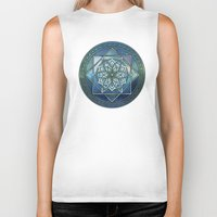 celtic Biker Tanks featuring Celtic Dream by MSheehan