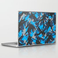 metal gear solid Laptop & iPad Skins featuring Metal Gear Rising Revengeance (V1) by ASHPLUS