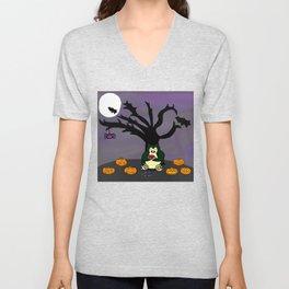 Halloween Munchies Unisex V-Neck