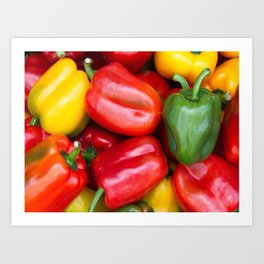 pepper Art Print