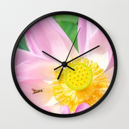 Tag You're It Wall Clock