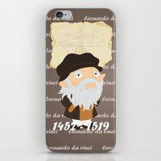 Leonardo da Vinci iPhone & iPod Skin