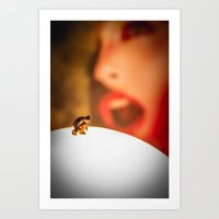The great discovery Art Print