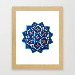 Oriental Design Framed Art Print