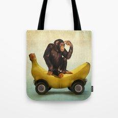 Chimp my Ride Tote Bag
