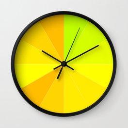 Variety Yellow Wall Clock