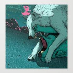 Ballad of the Wolf Canvas Print
