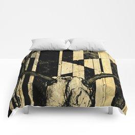 Surreal Deer Skull Comforters