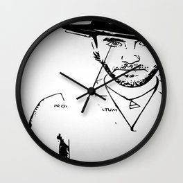 Vector Jared Leto 1 Wall Clock