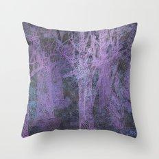 twilight forest Throw Pillow